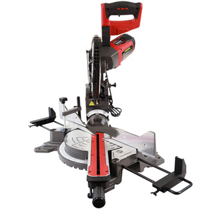 "Excel 10"" 255mm Mitre Saw Sliding Double Bevel 2000W with Laser"