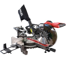 "Load image into Gallery viewer, Excel 10"" 255mm Mitre Saw Sliding Double Bevel 2000W with Laser"