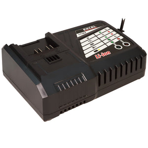 Excel 100-240V Fan-Cooled Smart Charger 5.0A EXL125W
