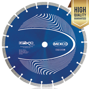 "Mexco 115mm 4.5"" Concrete Professional Grade Diamond Blade Cutting Disc"