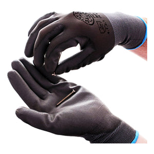 Guardsman PU Value Grey PU Coated Polyester Gloves Size Large 460160/L