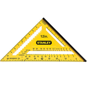 "Stanley STA46011 300mm 12"" Dual Colour Quick Square"