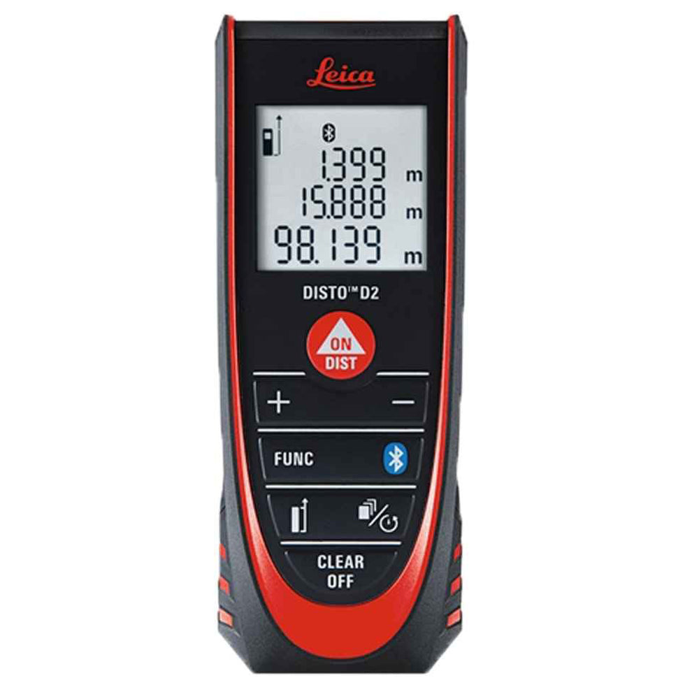 Leica Disto D2BT 100m Distance Measurer With Bluetooth