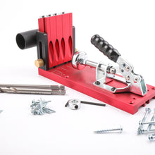 Load image into Gallery viewer, Titman ESPHJ 4 Hole Pocket Hole Jig Kit with Hex Key Collar & 100 x Screw