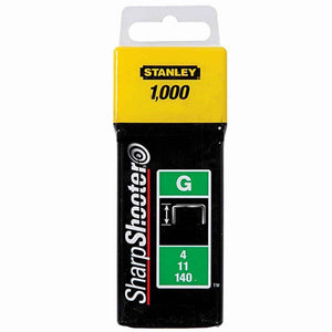 Stanley 1-TRA705 TRA7 THeavy-Duty Staple 8mm Pack 1000 STA1TRA705T