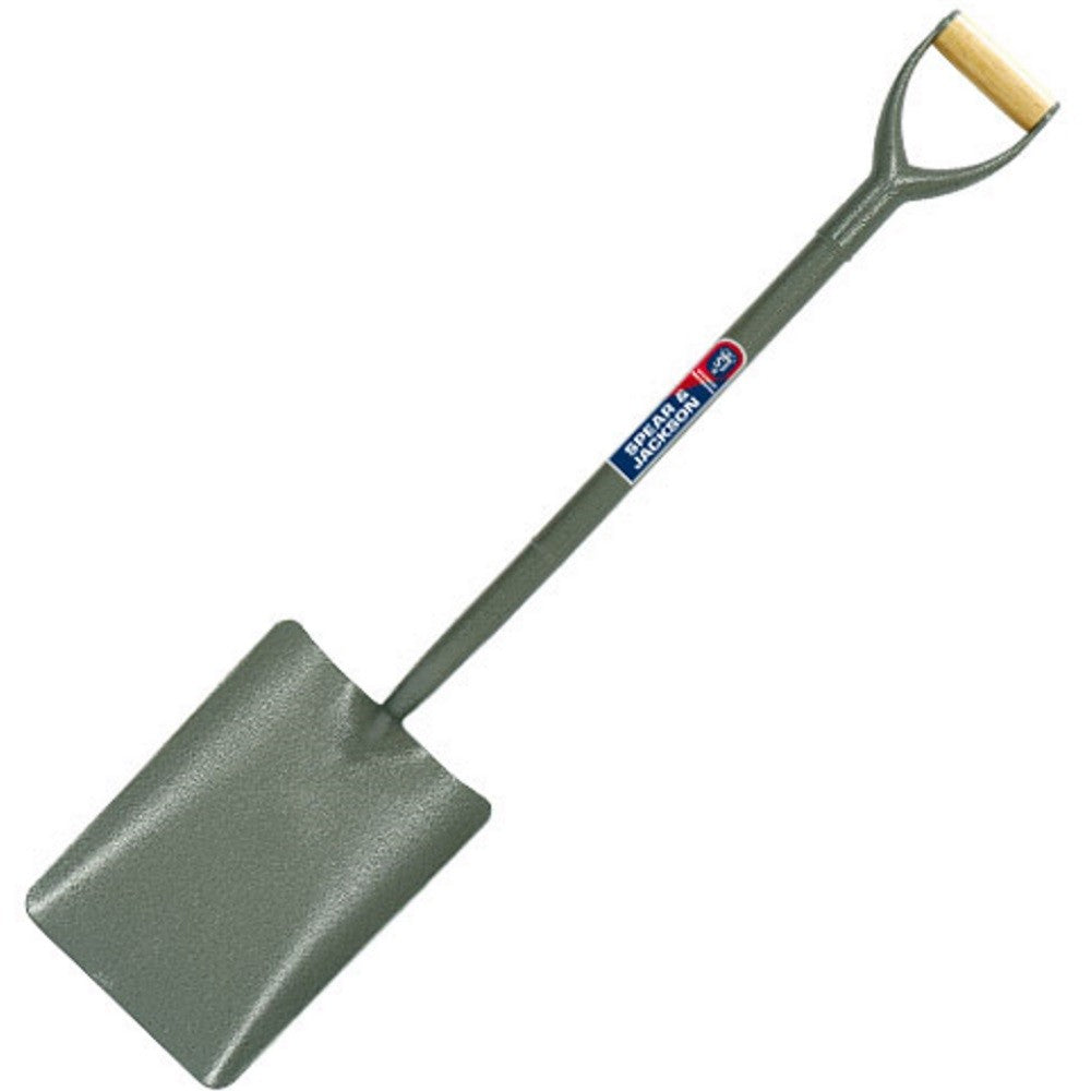Spear & Jackson Tubular Steel Taper Mouth Shovel 2000AC