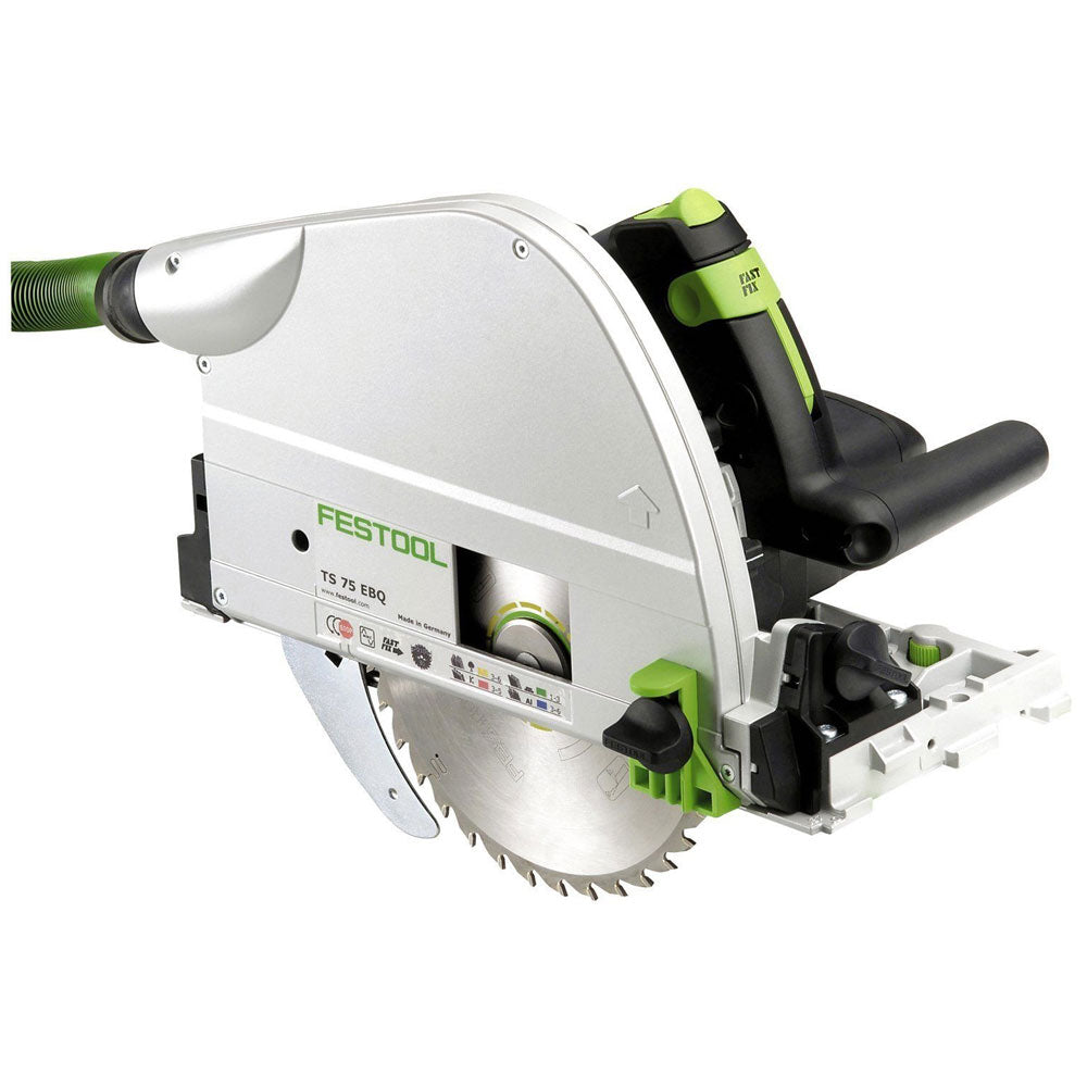 Festool TS75 EBQ-Plus GB 110v Plunge Saw 210MM 561439