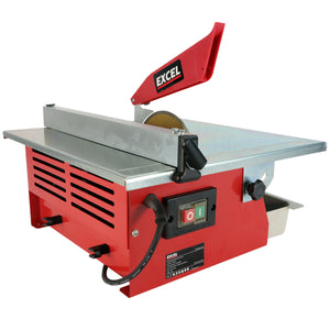 Excel Electric Wet Tile Cutter 180mm Cutting Machine 600W with Diamond Blade