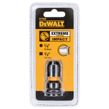 Load image into Gallery viewer, DeWalt DT7508 1/2in Drive to 1/4in Hex Impact Adaptor