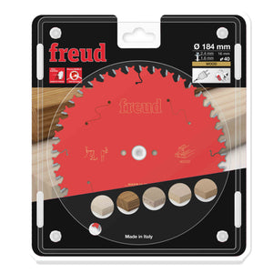 Freud 184mm x 16mm x 40T Circular Saw Blade for Wood