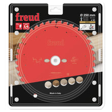 Load image into Gallery viewer, Freud 250mm x 30mm x 40T Mitre Saw Blade for Wood