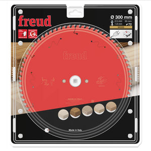 Freud 300mm x 30mm x 72T Table Saw Blade for Wood