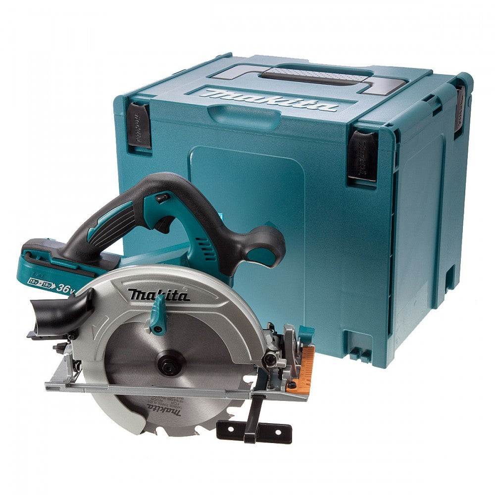 Makita DHS710ZJ 36V Twin 18V 190mm Circular Saw Body Only & Case