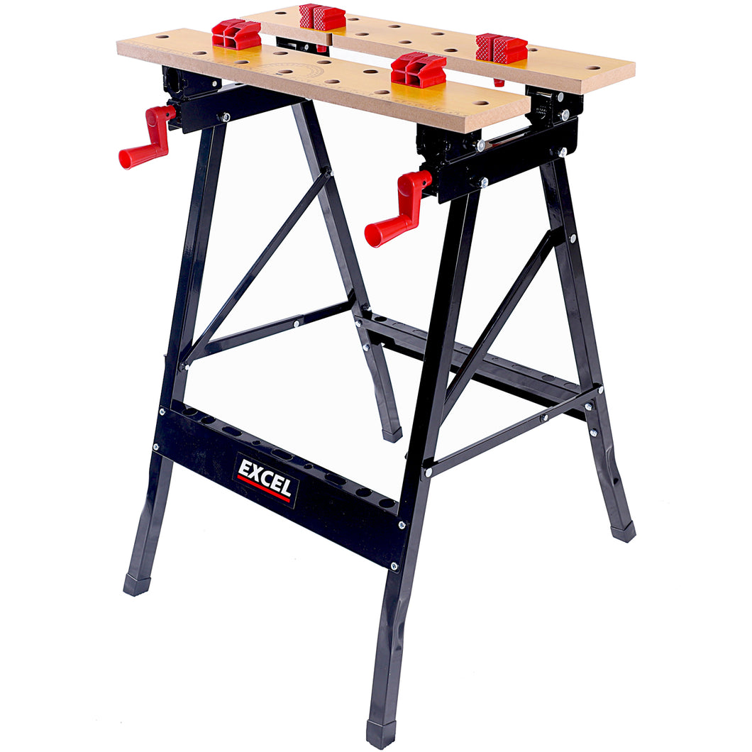 Excel Flip Top Workbench & Foldable Vise with Stand