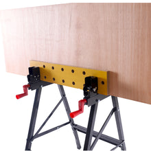 Load image into Gallery viewer, Excel Flip Top Workbench & Foldable Vise with Stand