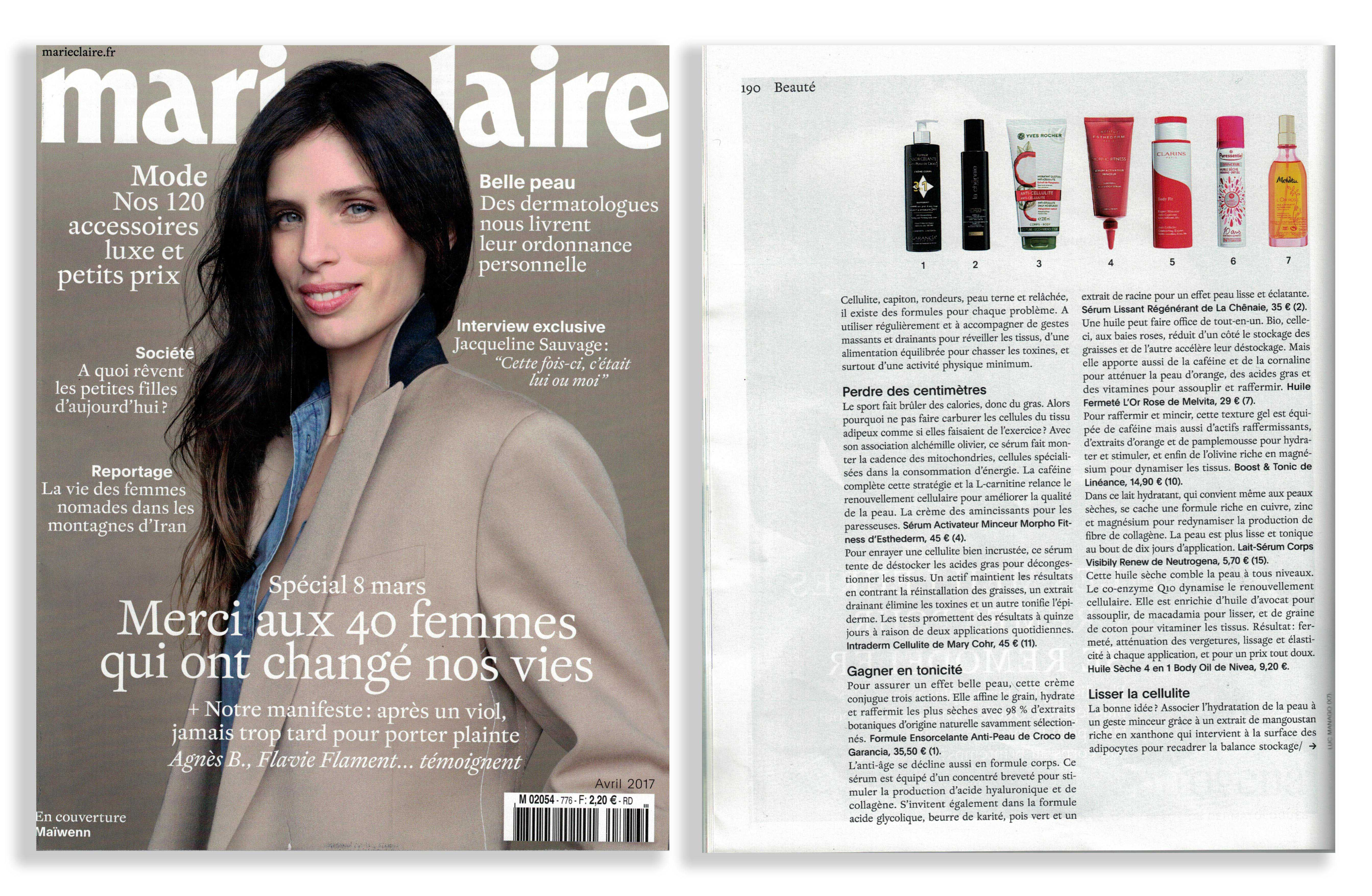 Marie-Claire - Avril 2017
