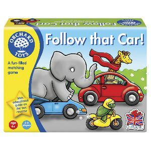 Follow that Car - Orchard Toys
