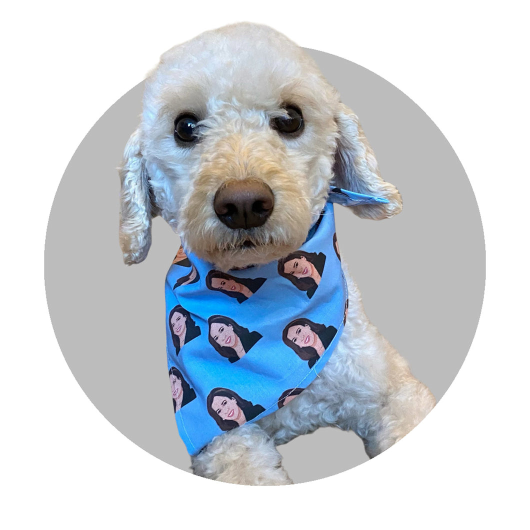 Dog Bandana - Kamala Harris