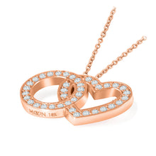 Load image into Gallery viewer, Eternal Love Necklace - Diamond & 18K Gold