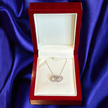 Load image into Gallery viewer, Eternal Love Diamond Necklace - 18K White Gold