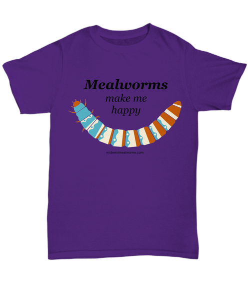 I Love Mealworms TShirt