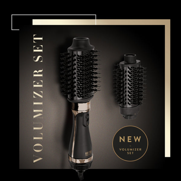 Are you missing your salon Blow-dry ? Not with a HotTools Volumizer Brush Set