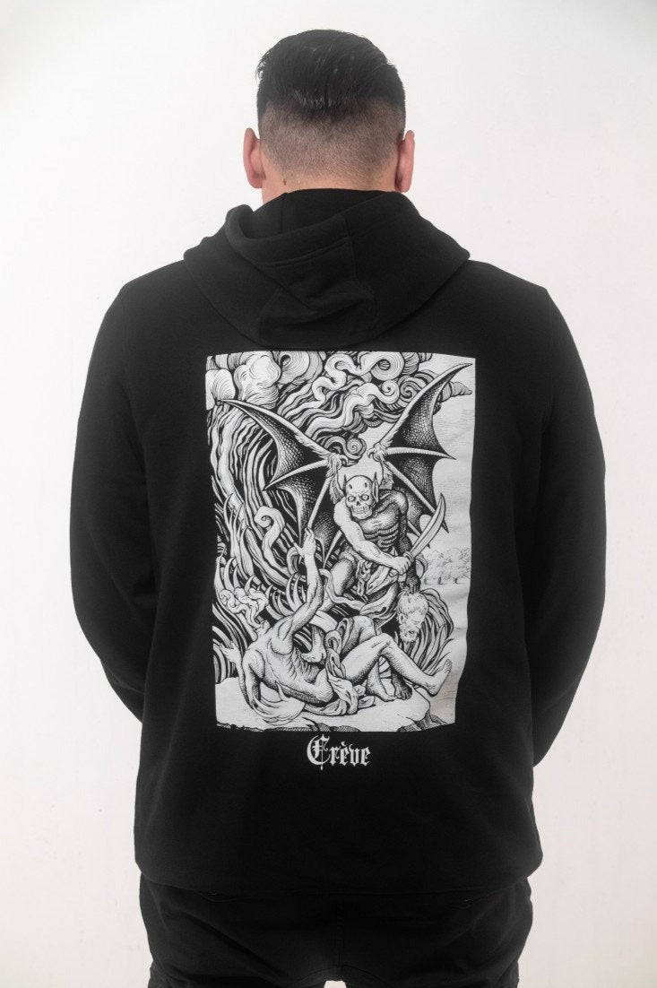 "Hoodies - ""DEMON"" Crève"