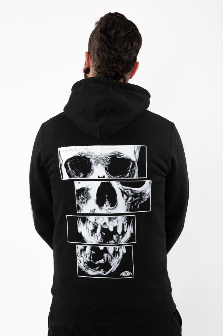 "Hoodies - ""SKULL EVERYWHERE"""