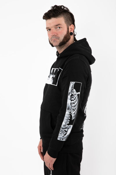 "Hoodies ""SKULL EVERYWHERE"" Crève"