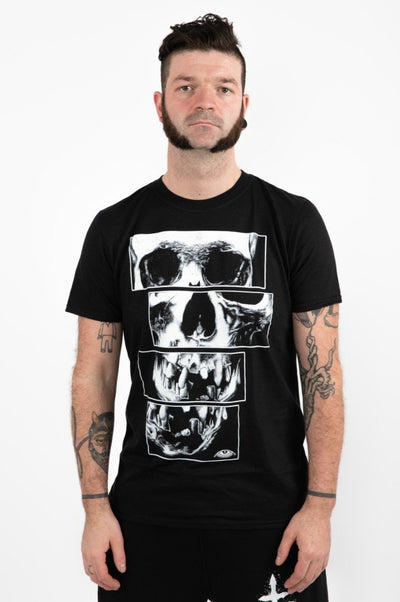 "T-shirt ""SKULL EVERYWHERE"" Crève"