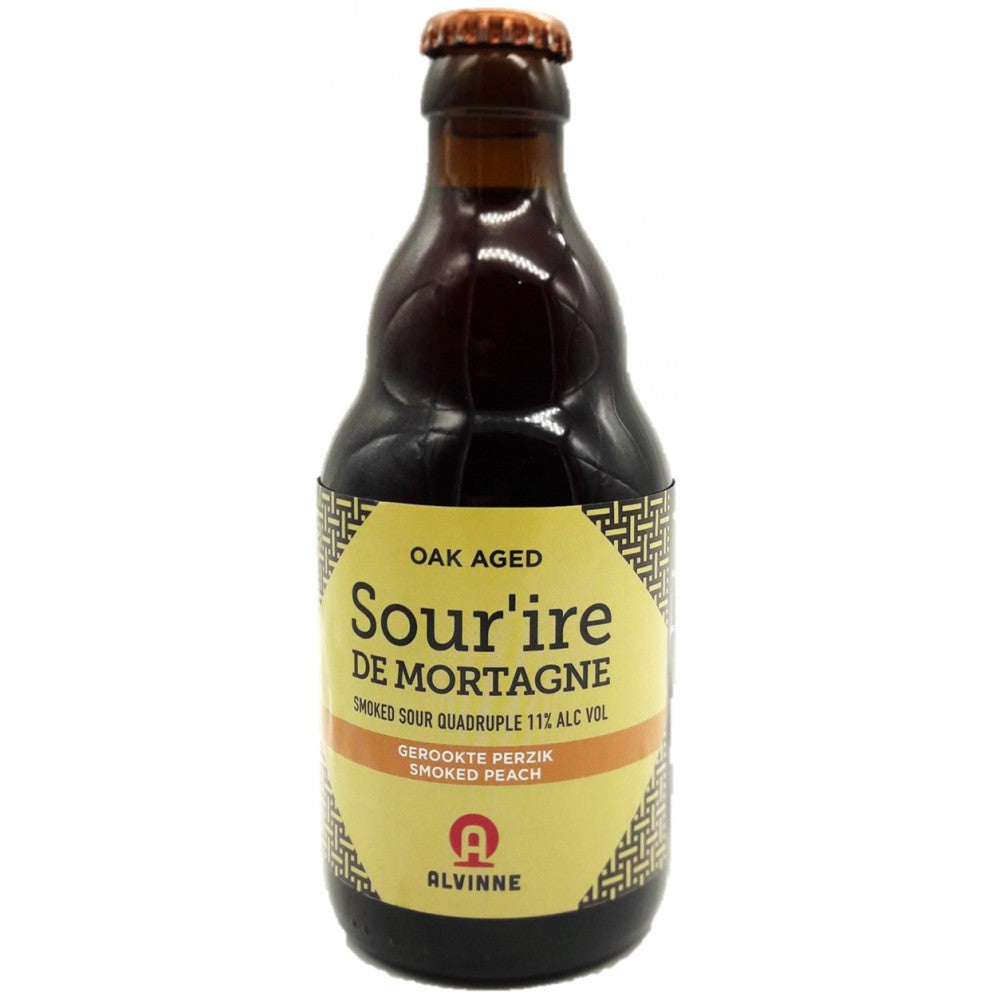Sour'ire de Mortagne Smoked Peaches 33cl