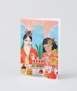 'Birthday Treats' Greetings Card