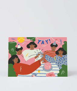 'Yay' Art Card