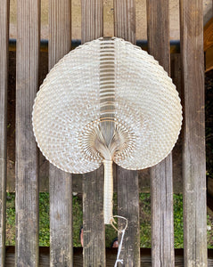 Woven Paradisio Fan in Blonde