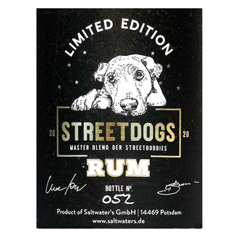 Laden Sie das Bild in den Galerie-Viewer, STREETDOGS. Rum Limited Edition.