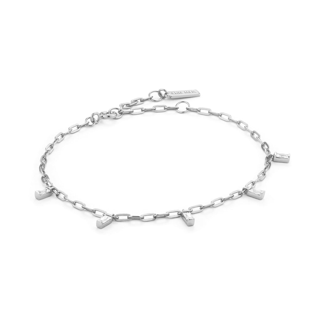 Load image into Gallery viewer, Silver Glow Drop Bracelet