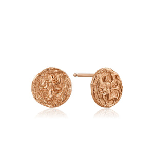 Rose Gold Boreas Stud Earrings
