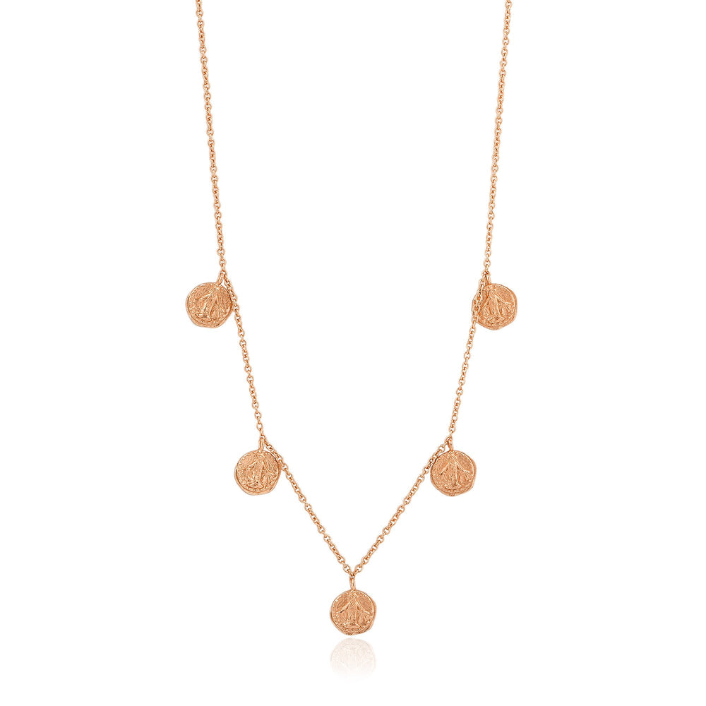 Rose Gold Deus Necklace