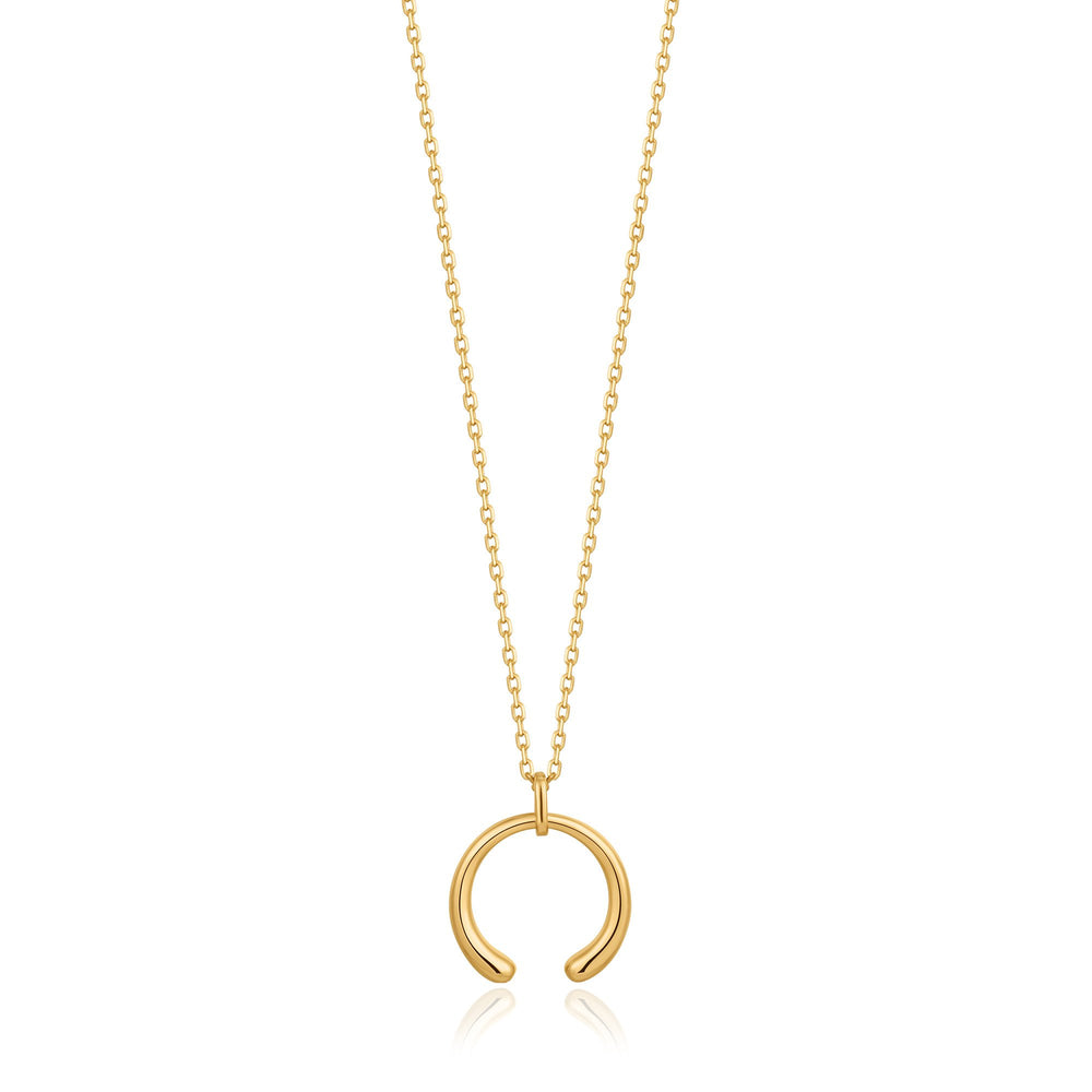 Gold Luxe Curve Necklace