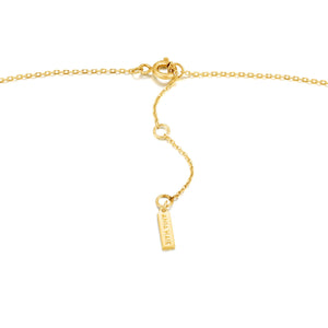 Gold Crush Square Necklace