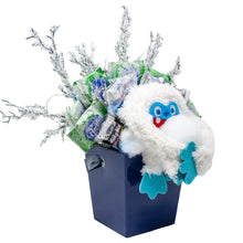 Load image into Gallery viewer, Abominable Snowman Candy Bouquet Side Alternative