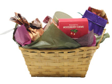 Load image into Gallery viewer, Autumn Inspired Idaho Specialty Food Basket Back