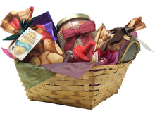 Load image into Gallery viewer, Autumn Inspired Idaho Specialty Food Basket Front