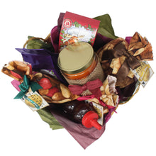 Load image into Gallery viewer, Autumn Inspired Idaho Specialty Food Basket Top