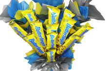 Load image into Gallery viewer, Butterfinger Candy Bouquet Closeup 1