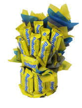 Load image into Gallery viewer, Butterfingers Candy Bouquet Fun Sized image showing side view of arrangement