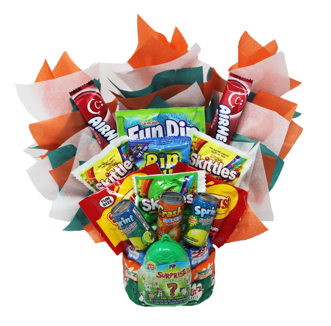 Candy Bouquet for Boys front