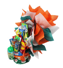 Load image into Gallery viewer, Candy Bouquet for Boys side
