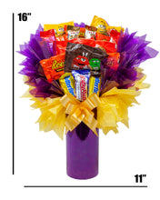 Load image into Gallery viewer, Candy Bouquet Fun-Size Mini Candy Variety Assortment | Personalized Gift Card