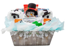 Load image into Gallery viewer, Cozy and Sweet Snowman Retreat Holiday Gift Front
